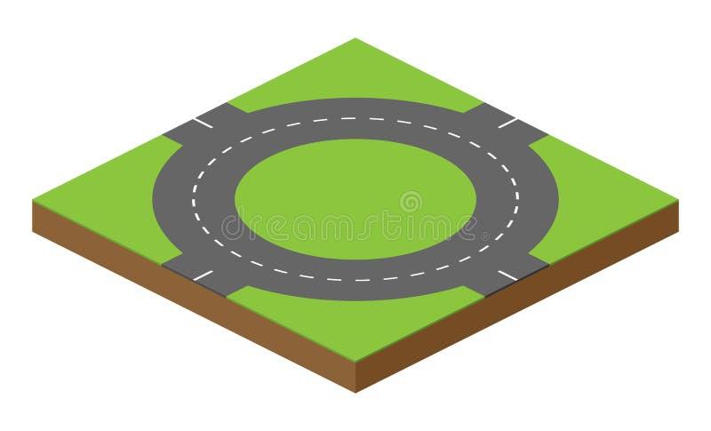Vectorwegbaksteen stock illustratie