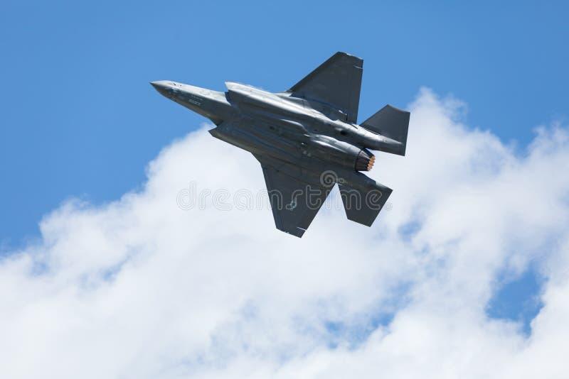 Vectren Dayton pokaz lotniczy zdjęcia royalty free