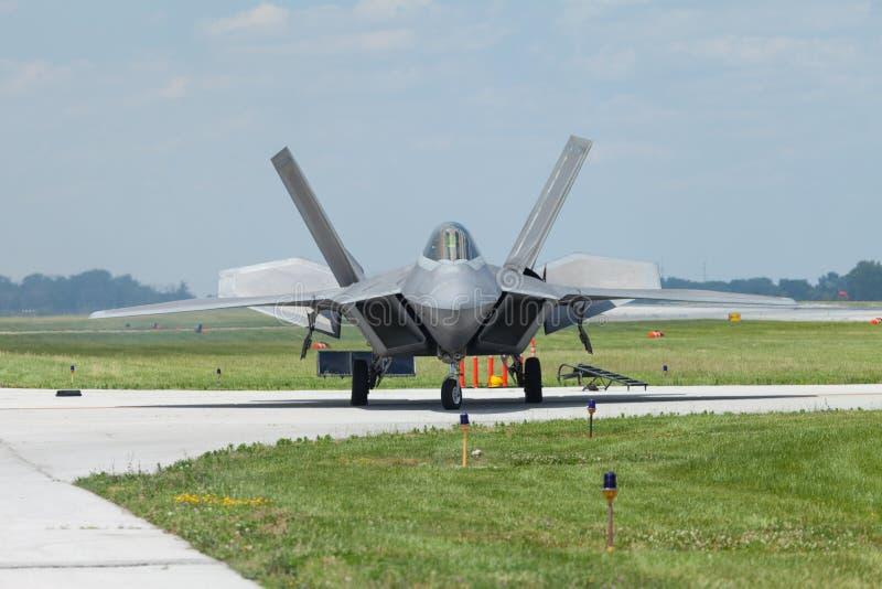 Vectren Dayton pokaz lotniczy zdjęcia stock
