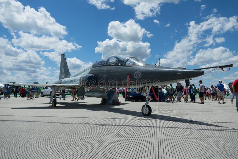 Vectren Dayton pokaz lotniczy fotografia stock