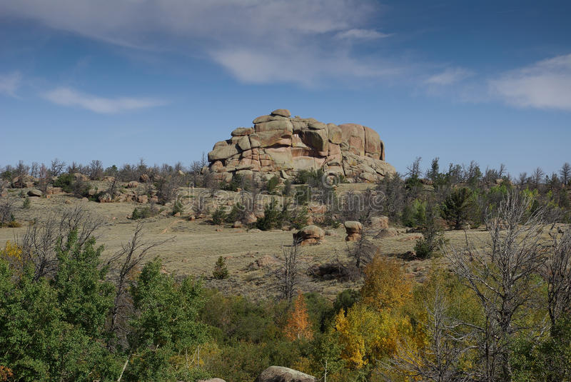 Vedauwoo, Wyoming royalty free stock photo