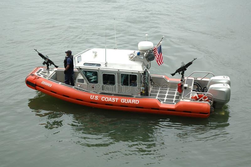 Vedette du garde côtier photo stock