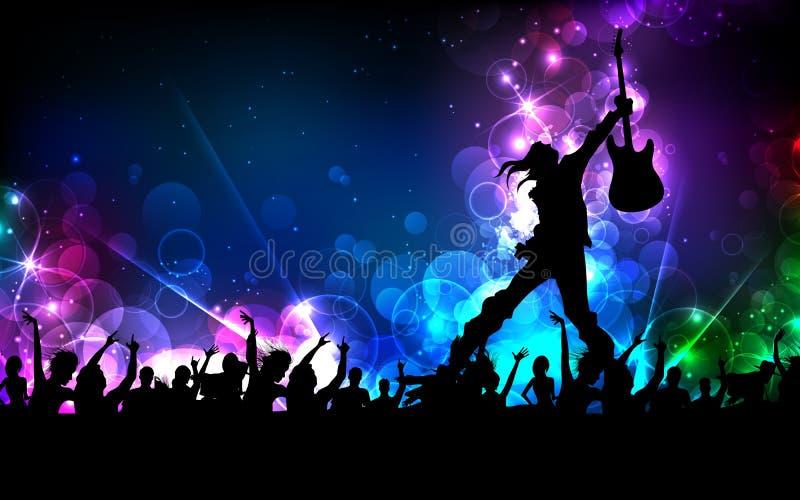 Vedette du rock illustration libre de droits