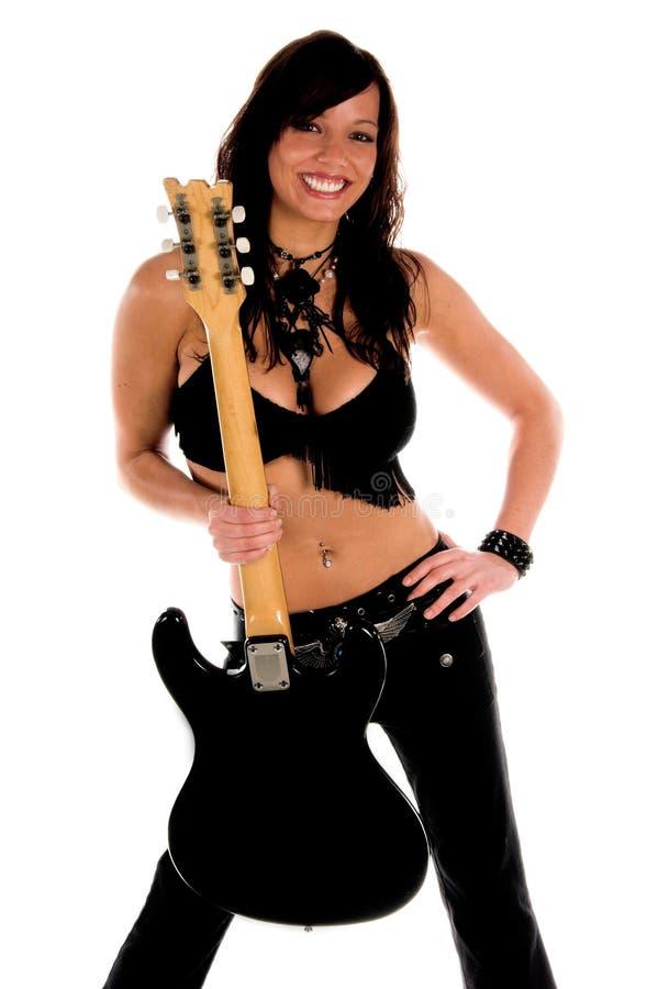Vedette du rock sexy photos stock