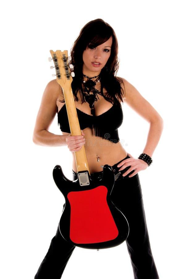 Vedette du rock sexy image libre de droits