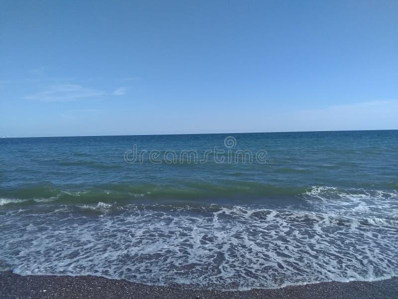 Vedi il mare senza fine fotografie stock