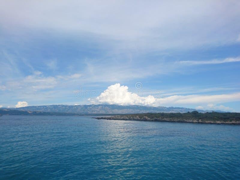 Vedi il peac delle nuvole fotografie stock libere da diritti