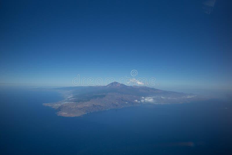 Veduta panoramica di Tenerife fotografia stock libera da diritti