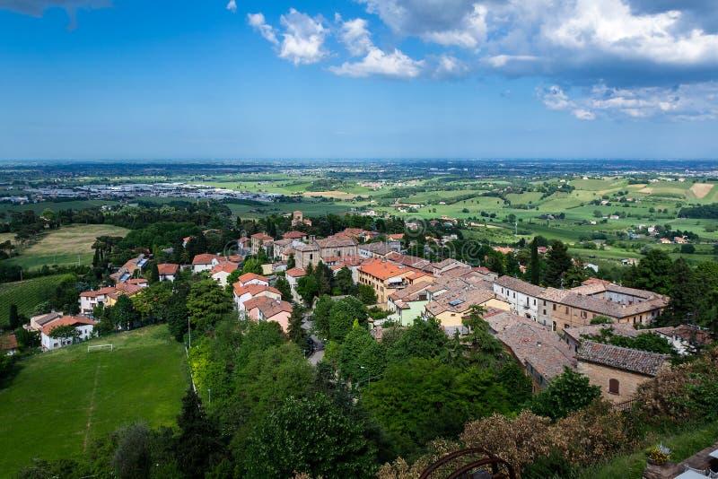 Vedute Colline e ein Forlì stockfoto