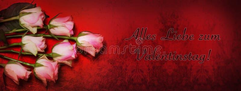 Veel liefde voor de Dag van Valentine royalty-vrije stock foto