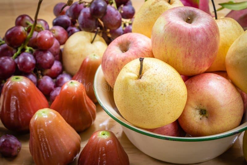 Veel soort fruit stock afbeeldingen
