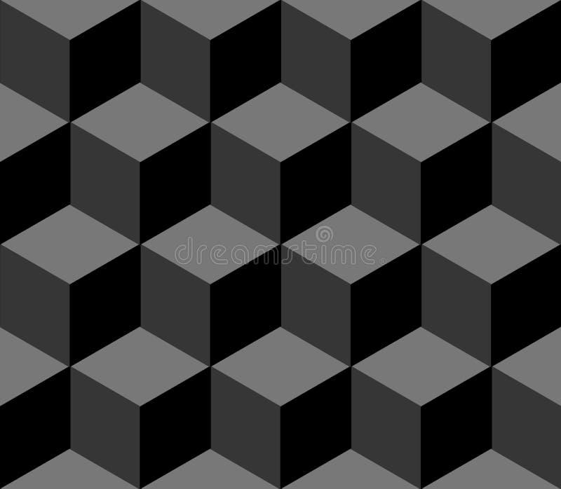 Veelhoekig naadloos patroon royalty-vrije stock afbeelding