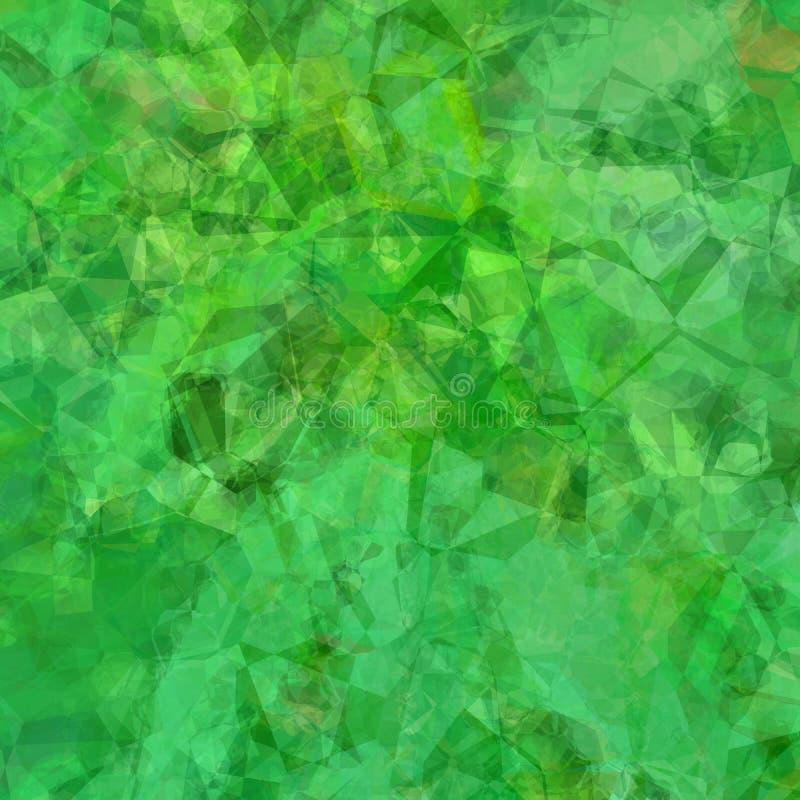 Veelhoekige abstracte achtergrond royalty-vrije illustratie