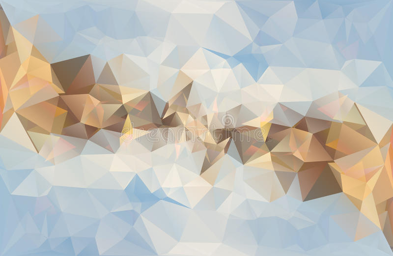 Veelhoekige abstracte vectorachtergrond stock illustratie