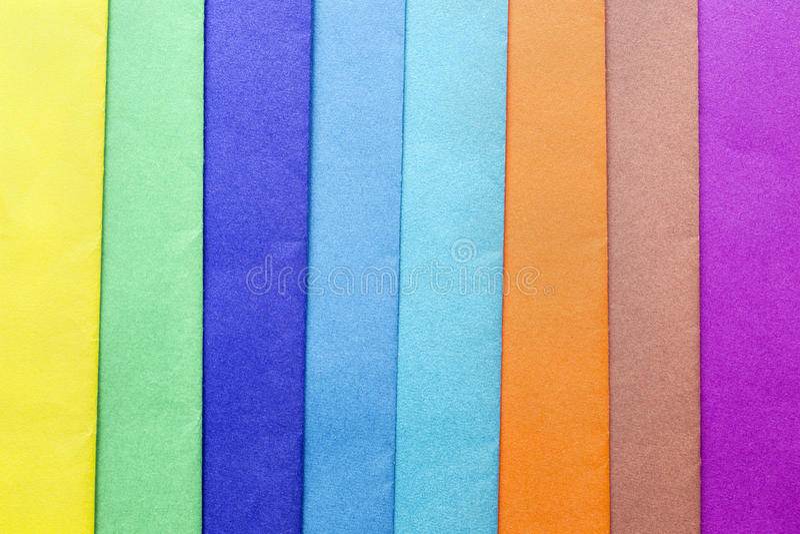 Veelkleurig document stock afbeelding