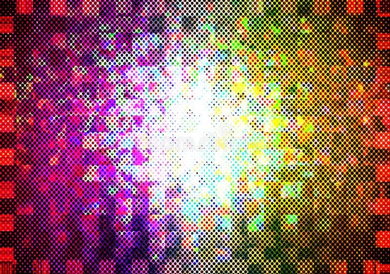 Veelkleurige Achtergrond stock illustratie