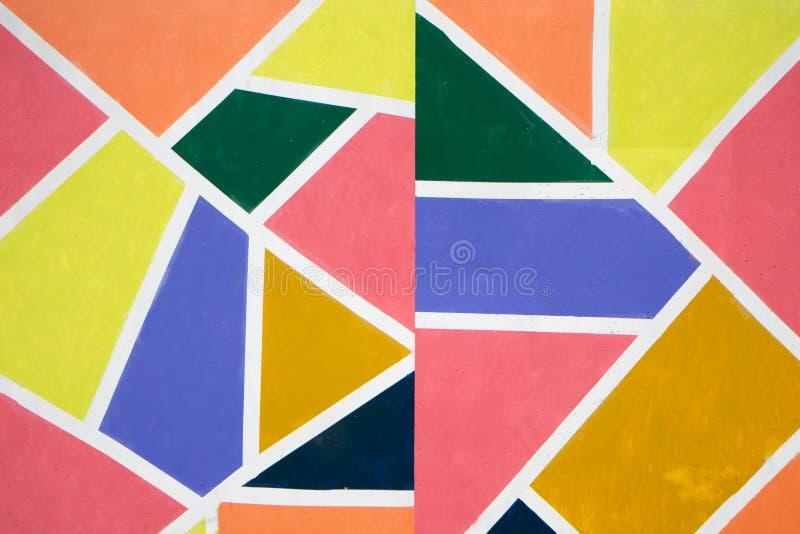 Veelkleurige achtergrond van een document van verschillende kleuren vector illustratie