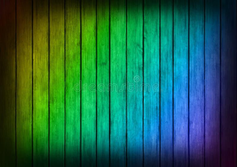 Veelkleurige de textuurachtergrond van kader houten panelen royalty-vrije stock afbeeldingen