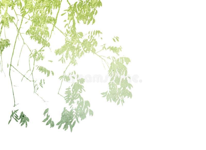 Veelkleurige gebladerteachtergrond royalty-vrije stock afbeelding