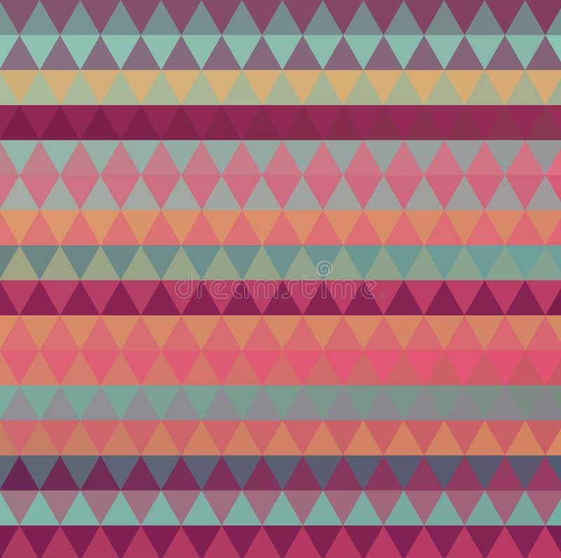 Veelkleurige geometrische driehoekige lage polystijl De achtergrond van de gradi?nt stock illustratie