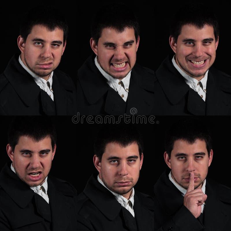 Veelvoudige gezichten royalty-vrije stock foto