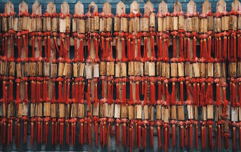 Veelvoudige simbols in China stock afbeeldingen