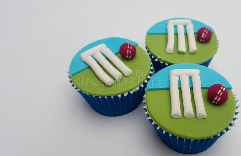 Veenmol cupcakes stock foto's
