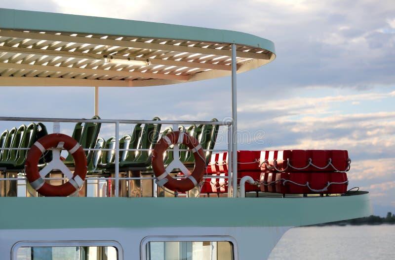 Veerboot aan Venetië royalty-vrije stock afbeelding