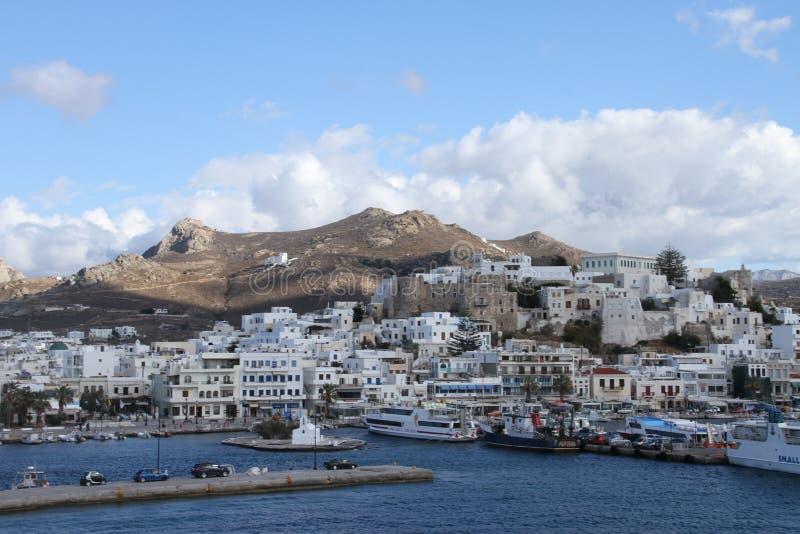 Veerboot in Griekenland royalty-vrije stock afbeelding