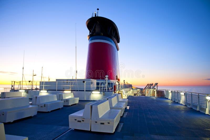 Veerbootcruise royalty-vrije stock afbeeldingen