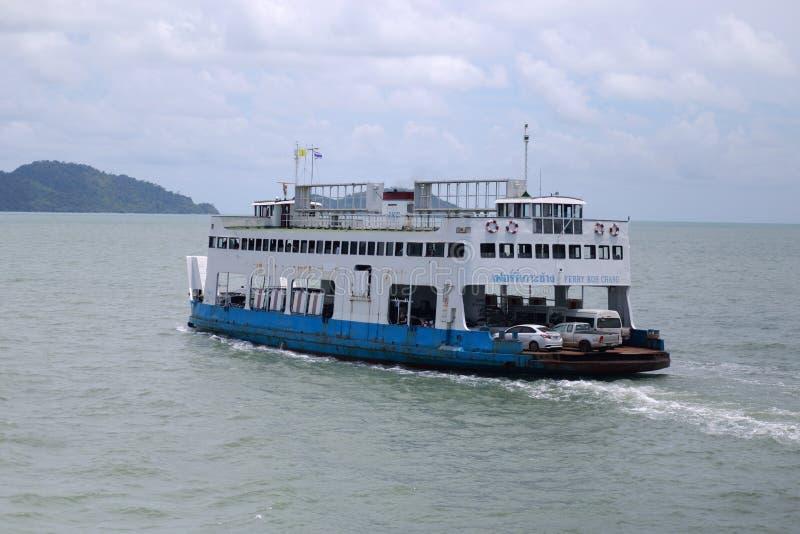 Veerbootschip royalty-vrije stock afbeelding