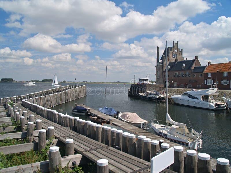 veere Zeeland niderlandów obrazy stock
