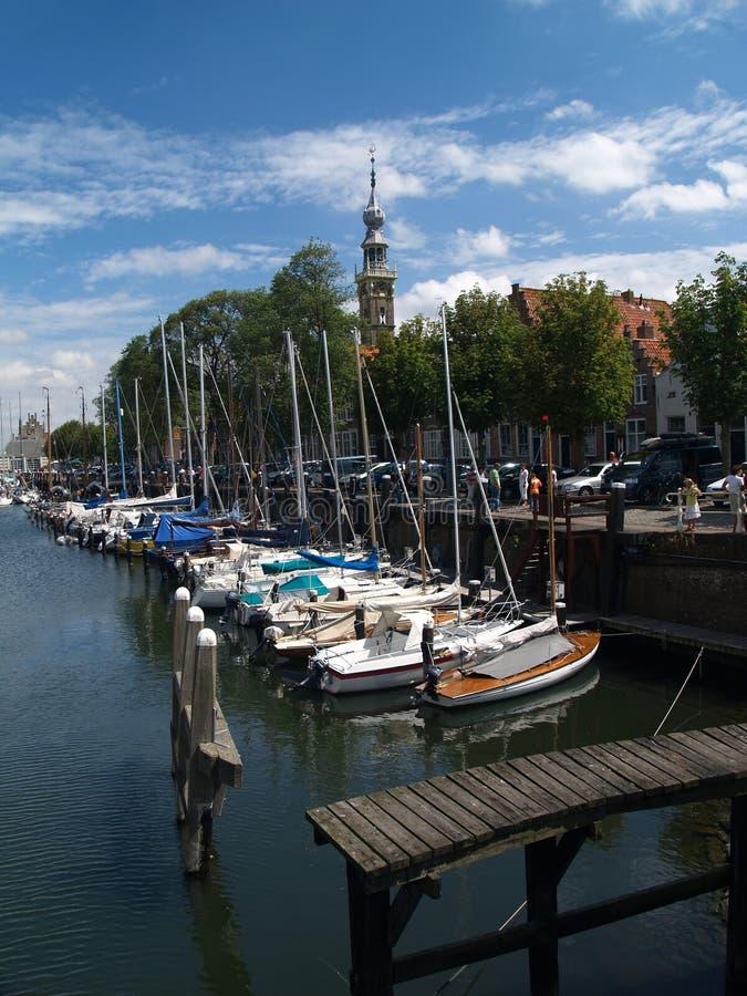 Download Veere, Zelanda, Países Bajos Imagen de archivo - Imagen de pintoresco, postal: 1299657