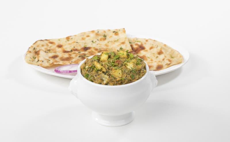 Veg Jaipuri curry royaltyfri bild