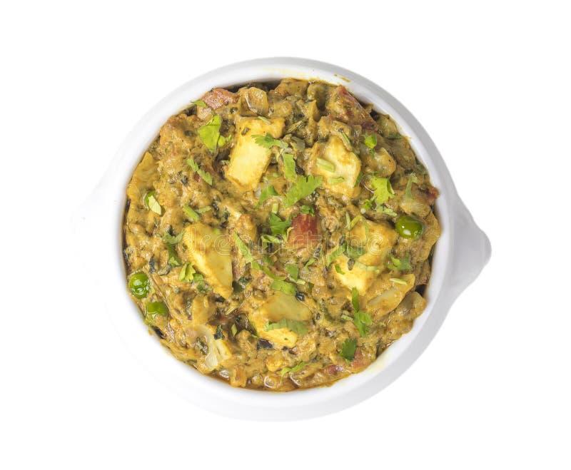 Veg Jaipuri curry royaltyfri fotografi