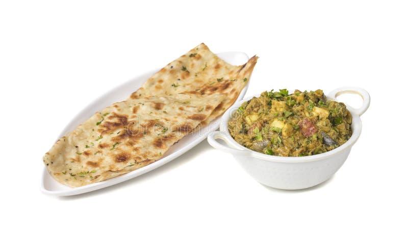 Veg Jaipuri curry arkivbilder