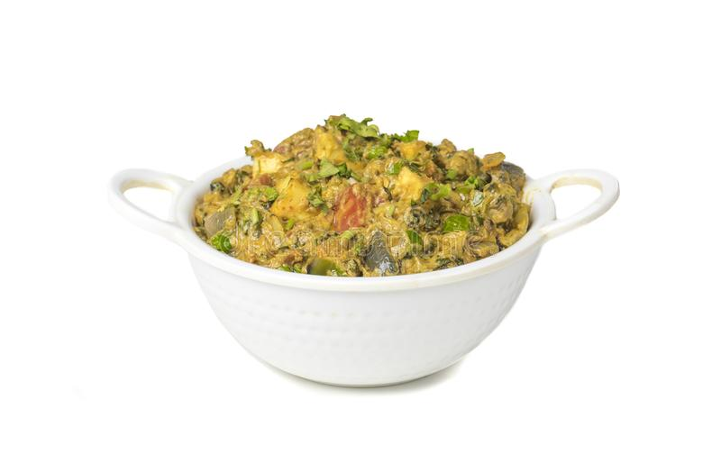 Veg Jaipuri curry arkivfoton
