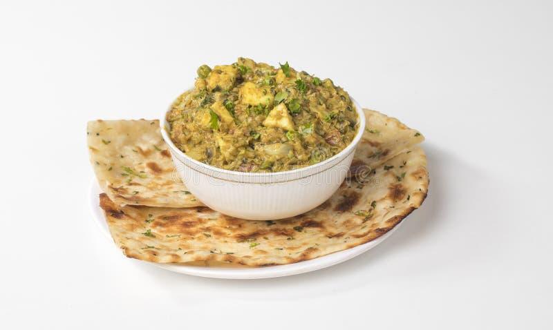 Veg Jaipuri curry royaltyfria bilder