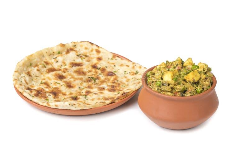 Veg Jaipuri curry royaltyfria foton