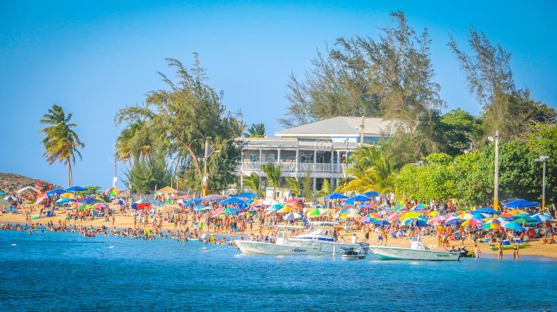 Vega-baja Strandurlaubsort Puerto Rico stockfoto