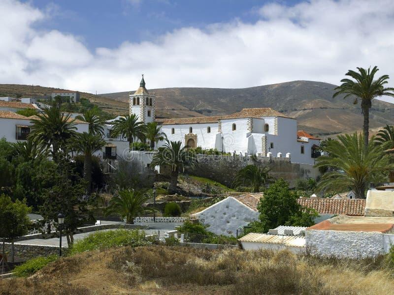Vega DE Rio Palma - Fuerteventura - Canarische Eilanden stock afbeelding