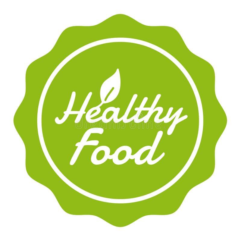 Vegan Button Healthy Food Badge. Eps10 Vector Banner. stock illustration