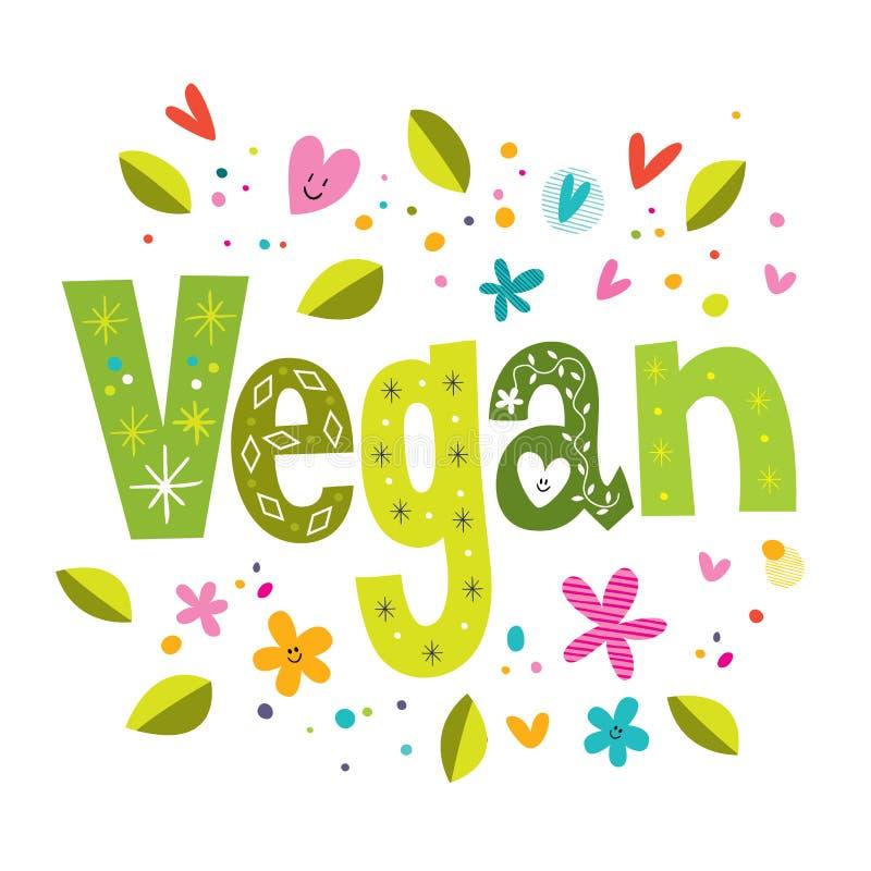 Vegan stock illustration