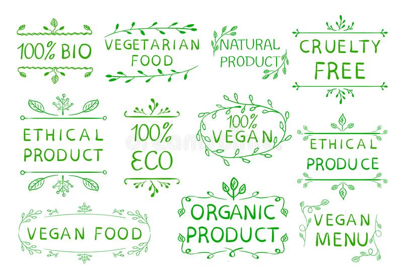 100 Vegan Ethical Product Cruetly Free  Vintage Hand Drawn