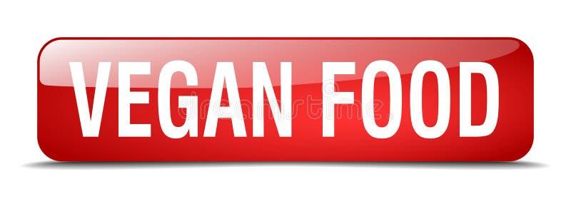 vegan food button vector illustration