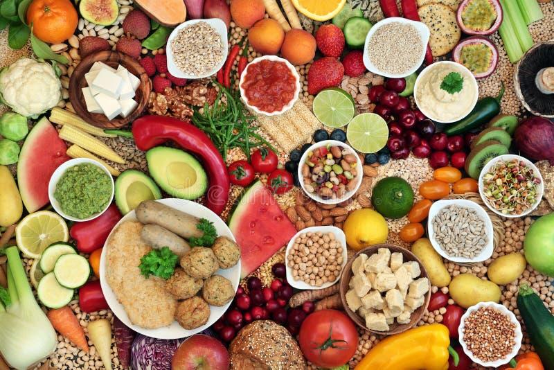 Vegan Food for Ethical Eating arkivbild