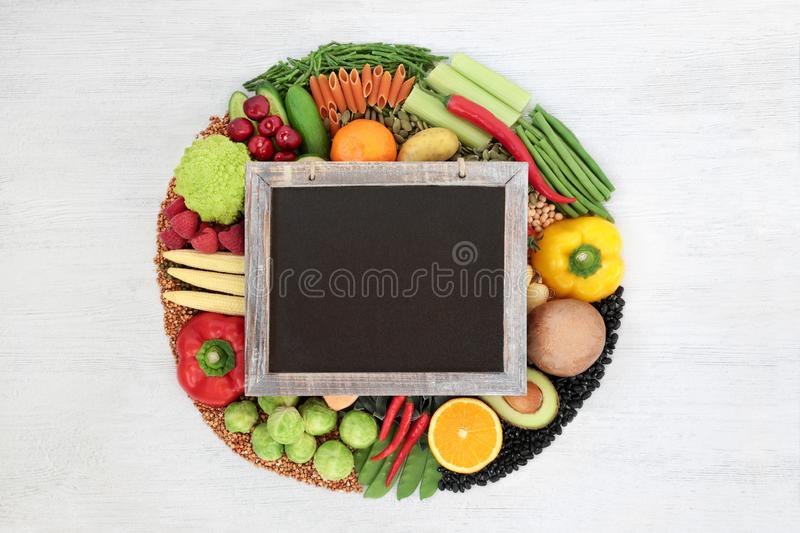 Vegan Food for a Healthy Diet stock photography