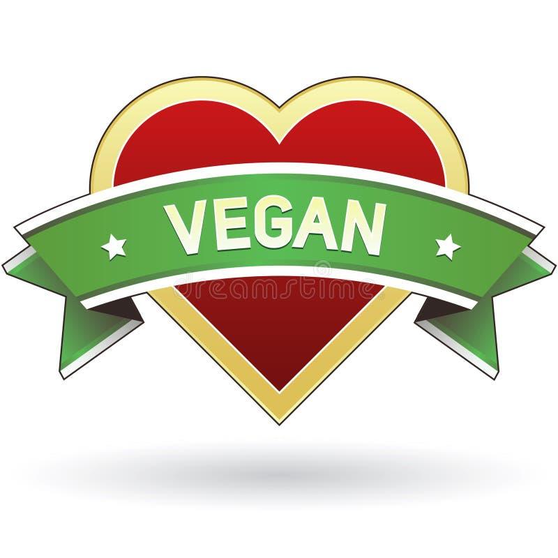 Download Vegan food label sticker stock vector. Image of cooking - 8939155