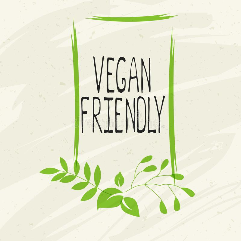 Vegan friendly label and high quality product badges. Bio Home made food Organic product Pure healthy Eco food organic. Bio and natural product icon. Emblems vector illustration