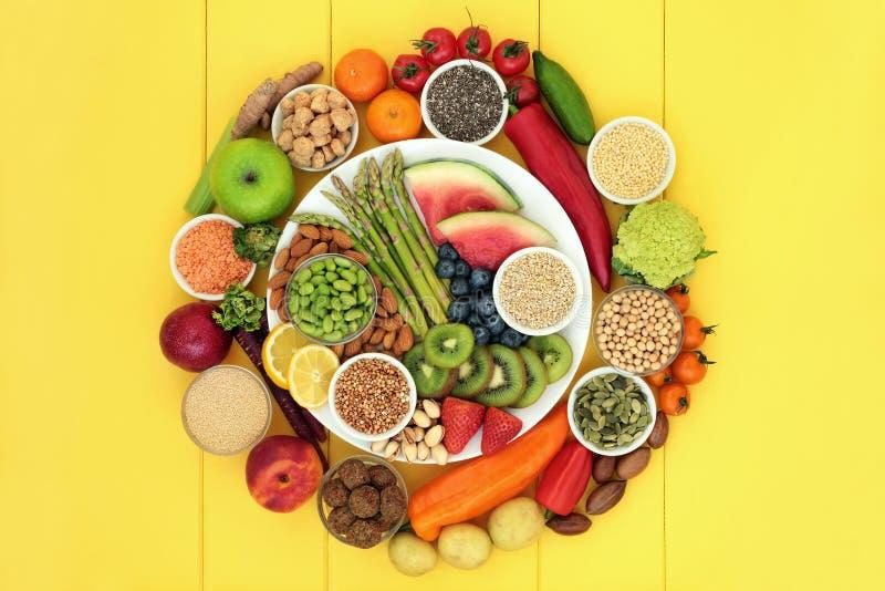 Vegan Health Food Assortment royalty free stock images